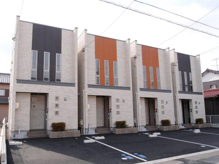 2階建て戸建賃貸住宅 土地の有効活用!愛知県春日井市/施工事例