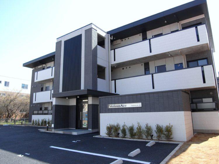高級感のある低層賃貸マンション 名古屋市建築施工事例