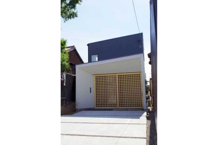 落ち着きのある街並みにした馴染む 現代和風住宅 【清須市/施工事例】