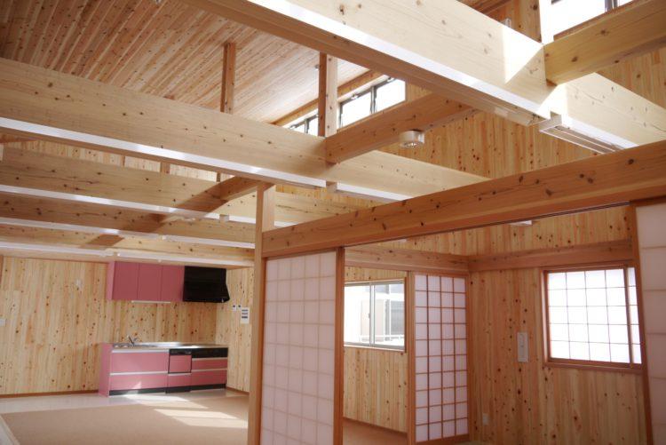 グループホームと小規模多機能型の2つを兼ね備えた福祉施設